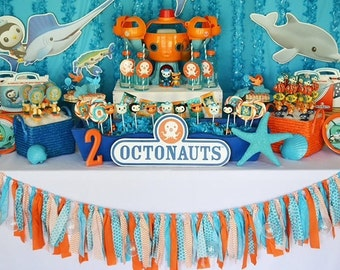 Under the Sea Fabric Garland by Lillypaul Designs