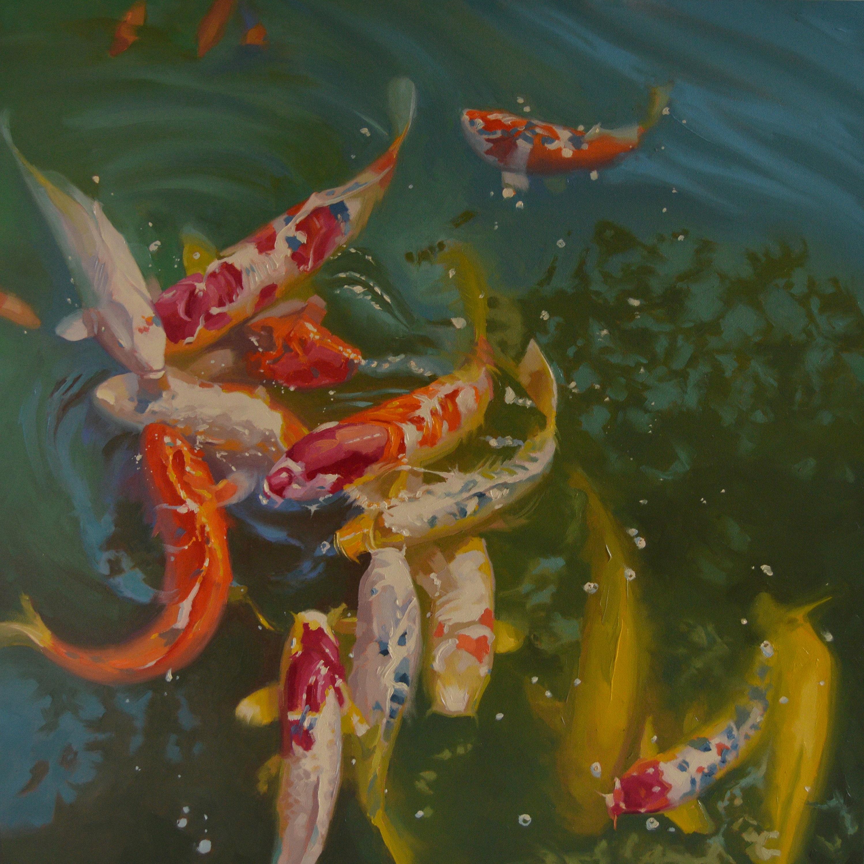 Koi Fish Long Beach Aquatic Pond Earl Burns Japanese