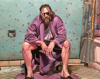 The Big Lebowski Bathroom Art Prints