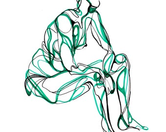 Print of Original Figure Study
