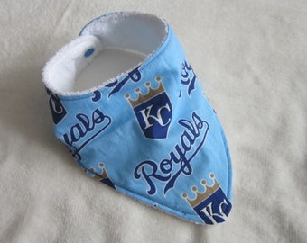 Kansas City Royals bandana bibdana baby pet