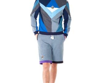 Triangulum Sweatshirt (Blue)