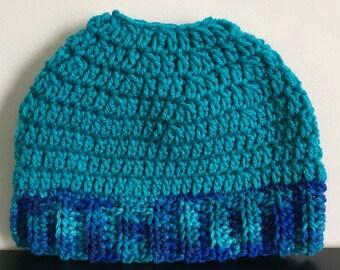 Messy bun - Messy hats - Bun Beanie - Messy bun beanie hat - Crochet messy bun hat - Ponytail hat - Bun hat - Messy bun hat - Messy hair hat