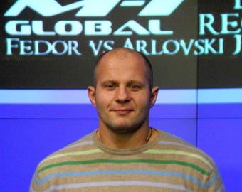 MMA fighter Fedor Emelianenko Glorious Sweater of Absolute Victory