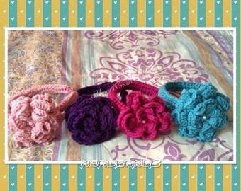Elastic Band for Hair - Crochet