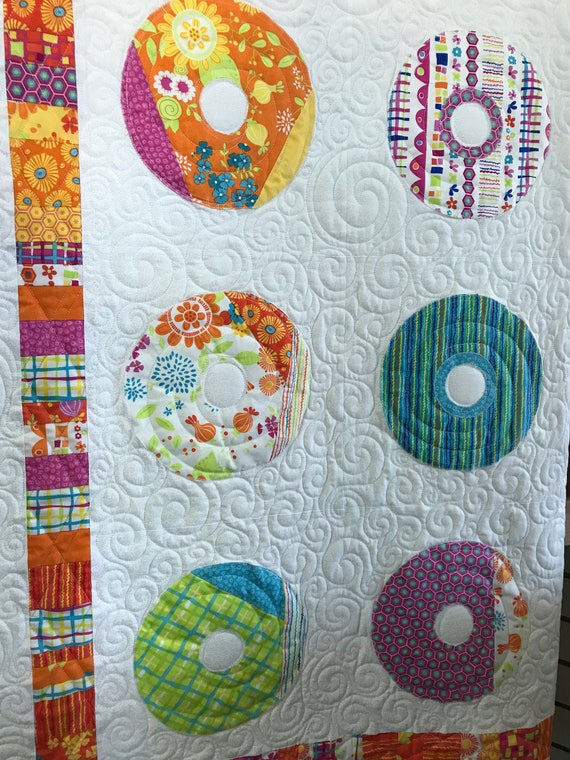 Dance with Me Quilt Zen Chic Colorful and Modern Quilt High Quality
