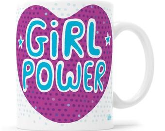 Girl Power Feminist Gift Female Power Future Is Female Strong Female Girl Gift Mentor Gift Teacher Gift Feminist Mug Strong Female Mug