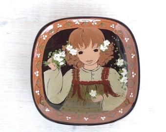 Vintage Ceramics Rheinfelden Pottery Switzerland Handmade Handpainted Keramik Schweiz