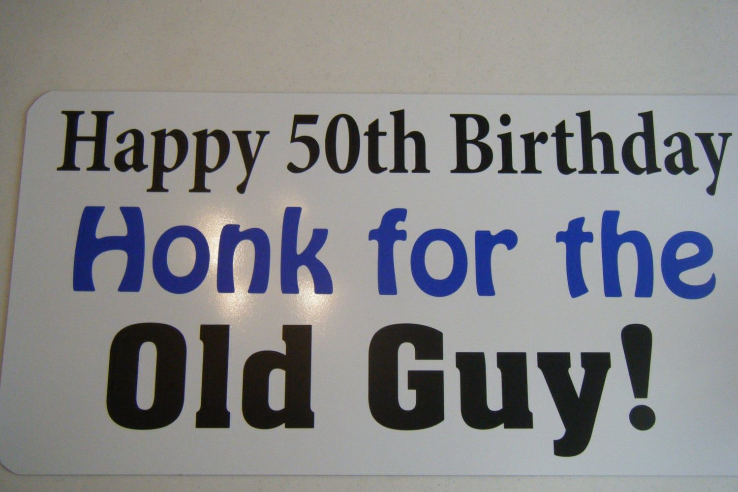 Happy Birthday Guy Images ~ Th birthday car magnet h w happy th