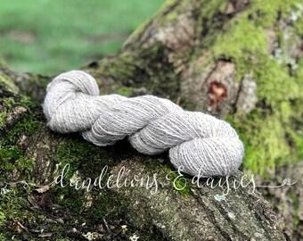 Handspun Merino/Alpaca/Angora/Silk Yarn by Dandelions & Daisies