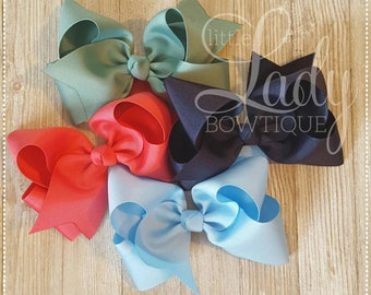 Camp MJC hair-bow bundle~made to match Matilda Jane's spring collection,release 1~little girl hair-bows-baby bows-custom hairbows-boutique~~