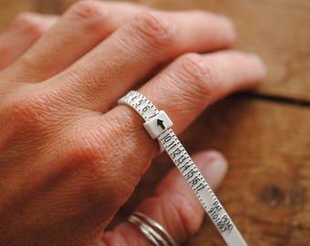 Little Plastic Ring Sizer!