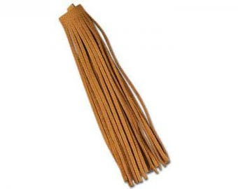 "Deertan Fringe 3-1/2"" x 9-1/2"" (89 x 241mm) Saddle Tan"