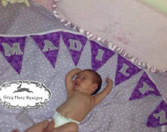 Made to Order Personalized Pennant Bunting