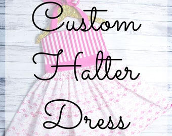 Create Your Own Halter Dress