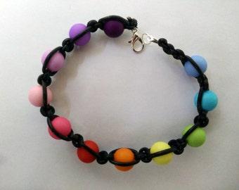Pearl Bracelet Rainbow
