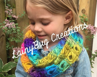 Kids infinity scarf