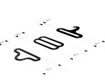 3 Piece Set - Bow Tie Adjuster
