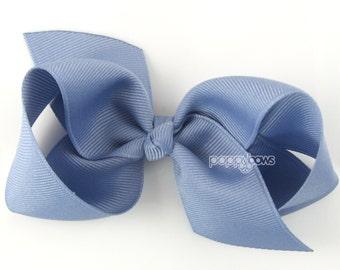 Girls Hair Bow - wisteria hair bow - Loopy Bows - large hair bows - big hair bows - bows for girls - toddler hair clip purple 3.5 inch bows