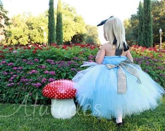 Halloween Costume for Child - Wonderland Tutu Dress by Atutudes