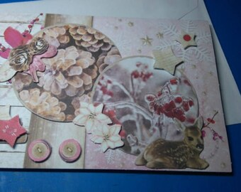 3D 919 hand made greeting card