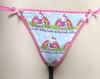 Playful Hello Kitty panties