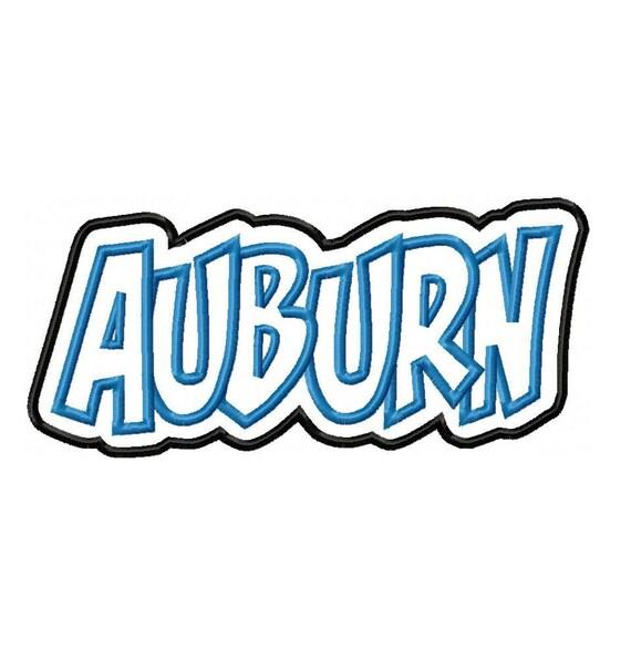 Auburn Machine Embroidery Designs
