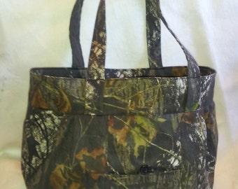 Oversized CAMO Hand Bag ~ Beach Bag ~ Diaper Bag