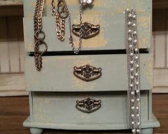 Chic jewelry box Etsy