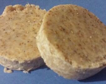 Oatmeal & Cinnamon Soap - Coconut Oil Free