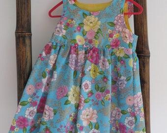 Size 1, little girls dresses, girls dresses, kids clothes, pretty dresses, floral dresses, party dresses, handmade dresses