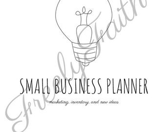 Small Business Planner - 10 Printable Pages