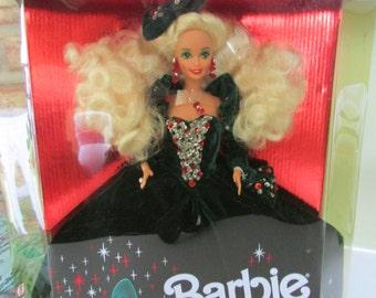 1991 Holiday Barbie,Happy Holiday Barbies,NRFB Toys,Vintage toys,Christmas Barbies,Barbie Dolls,Mattel collectible toys, Collectible barbies
