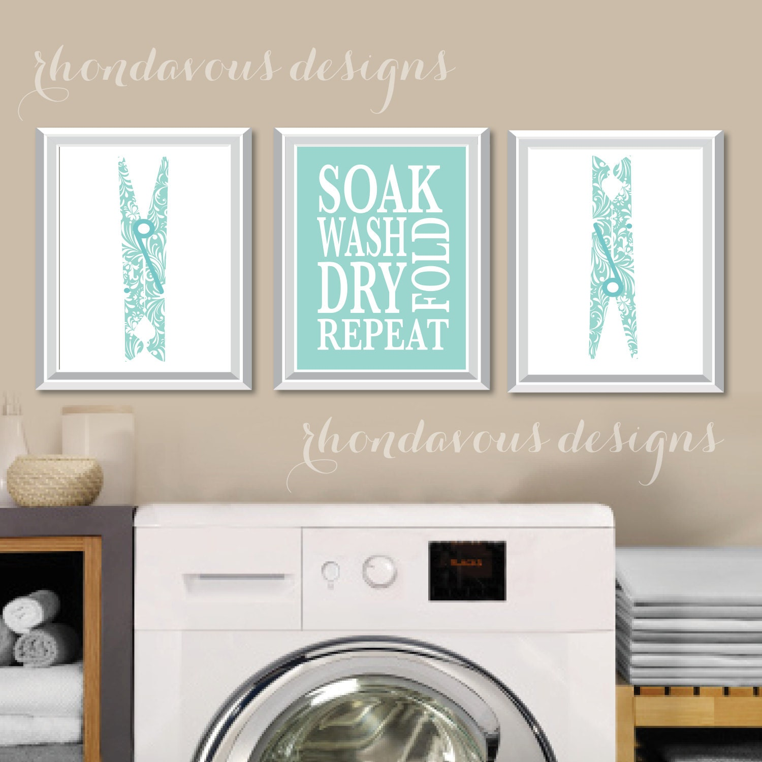 Laundry Wall Decor Laundry Room Art Print Laundry Room Sign Laundry Room