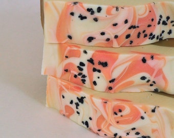 Pumpkin Spice Soap - Natural Soap - Handmade Soap - Cold Process Soap - Vegan Soap - Shea Butter Soap