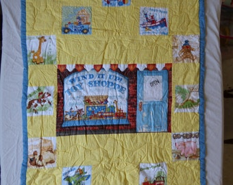 Toy Store Baby Quilt