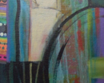 57   is a mixed media original artwork.  Buy all THREE and I ship for FREE.
