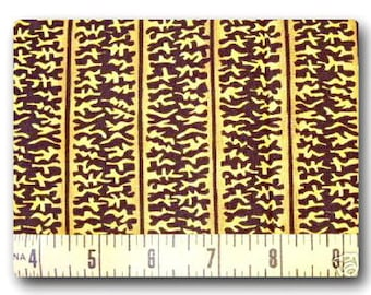 Yellow Squiggles - Fabric By The Yard