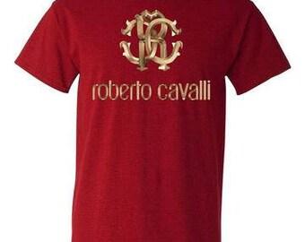Roberto Cavalli Antique Cherry Red T-Shirt