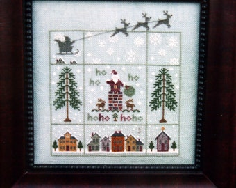 Merry Christmas Book No. 68 By Brightneedle Cross Stitch Pattern Leaflet 2003