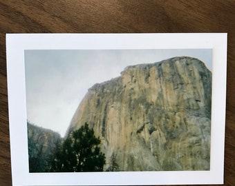 "Greeting Card- ""El Capitan"""
