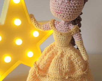 Disney Inspired Belle - from Beauty and the Beast- Crochet Pattern Only