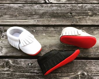 HIGH QUALITY red bottom moccasins,  baby boy red sole, Black Red Bottom Moccasins, baby girl moccasins, Baby Moccasins, baby boy moccasins