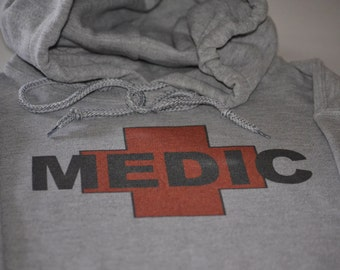Medic Hoodie Military Paramedic Search And Rescue Doctor Army Air Force Rangers Hooded Sweatshirt Gift For Men Women Husband Boyfriend