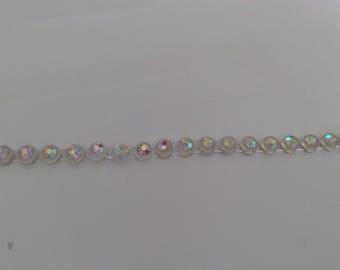 Ribbon rhinestone Crystal 5 mm in diameter