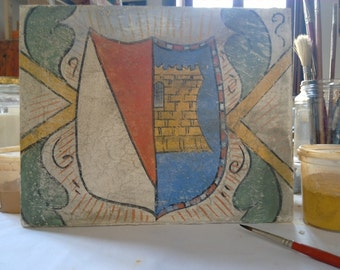 Fresco coat of arms, coat of arms