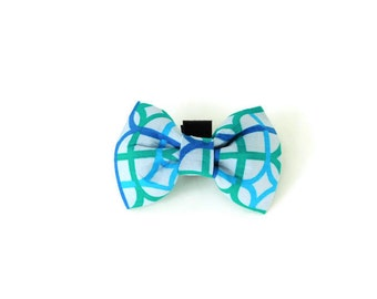 Multicolor dog bow tie, multicolor line collar flower, cat bow