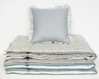 """pillow-cushion-oreiller- das Kissen """"gray"""""""
