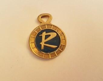 Rambler keychain keytag key chain vintage
