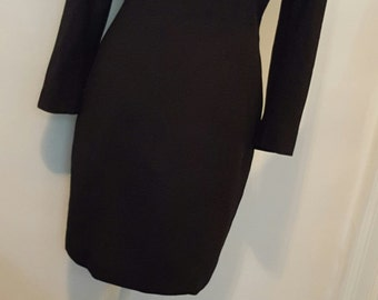 Vintage LBD Short Black Dress